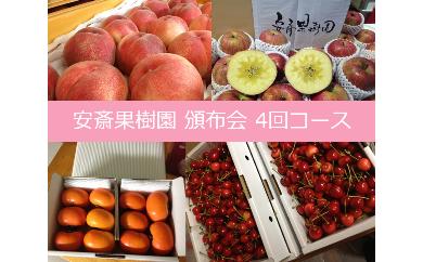 《全4回》安斎果樹園フルーツ頒布会