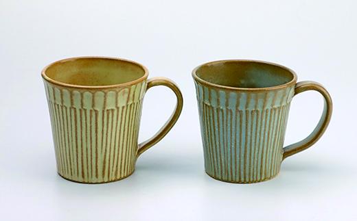 HMG227 八幡平市の工房【tamari窯】ペアマグカップ