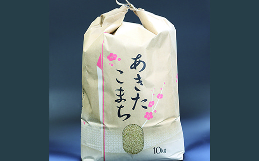 HMG203 【平成29年度産米】立柳農園のあきたこまち玄米 10kg × 3ヶ月