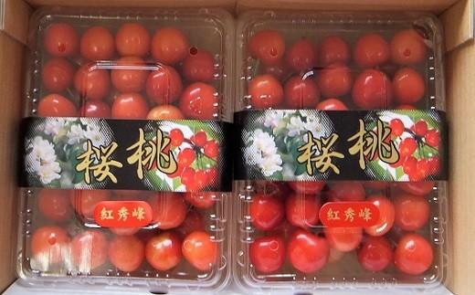 0056-037 さくらんぼ(紅秀峰) 300g×2