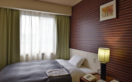[№5636-0177]「ホテルサン人吉」1泊朝付 シングルルーム 1名様宿泊券