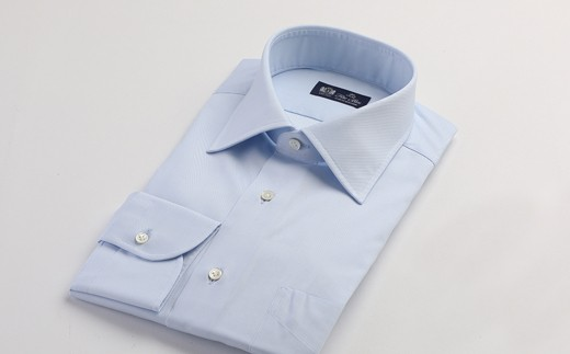 HITOYOSHIシャツ ブルーツイル
