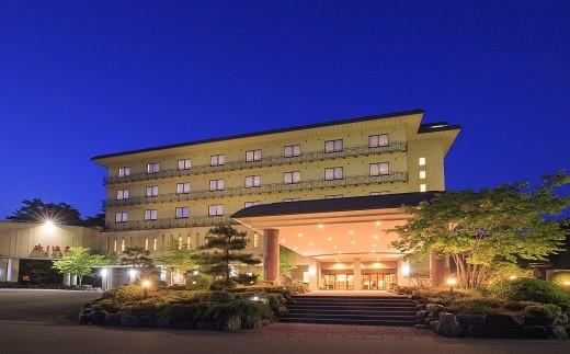 【180】 渡り温泉 ホテルさつき 1泊2食ペア宿泊券