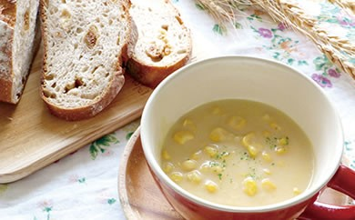 【北海道産のとうもろこしを贅沢に使用】元気応援つぶつぶコーンスープセット