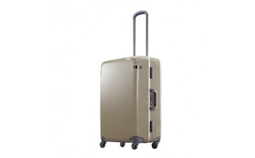 日本製スーツケース ace.カーンF 60L (ゴールド) 04091-05【1019277】