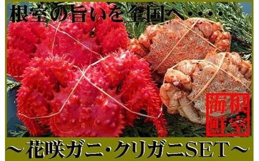 CA-70015 【北海道根室産】花咲ガニとクリガニの食べ比べセット