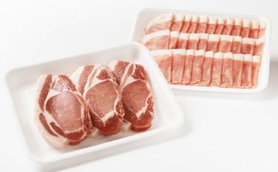 ルスツ産豚肉 しゃぶしゃぶ&とんかつセット