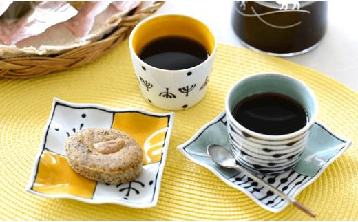 DC03 【波佐見焼】 カラフルカップ&小皿ペア 5色10点セット-4