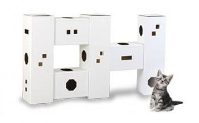 にゃんハウス「タワータイプ」6箱セット