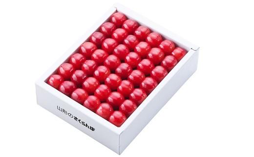 0060-004 さくらんぼ(佐藤錦)500g化粧箱×2