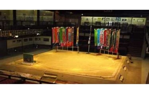 「観光ボランティアガイドと歩く葛城市 ウ 相撲館「けはや座」相撲体験(半日)」