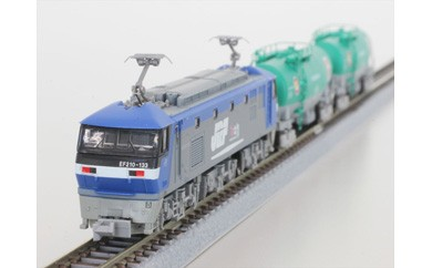 EF210桃太郎&タンク車 貨物列車走行セット