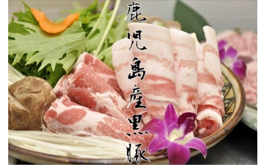 【A06016】鹿児島県産 極上黒豚厳選1.5kgセット