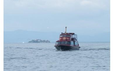 彦根港発多景島観光船回遊