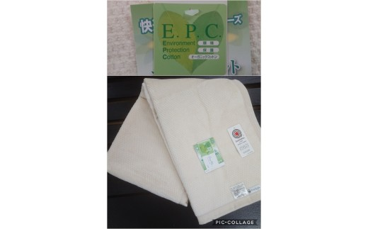C30-4オーガニックコットン綿毛布