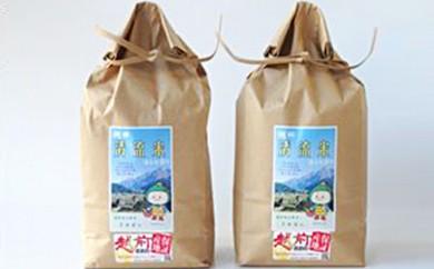 [№5884-0180]棚田清流米コシヒカリ 2kg×2袋