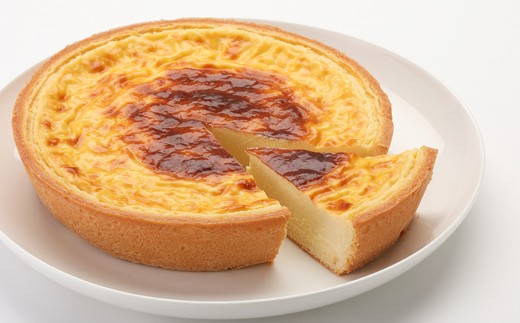 九州限定!「ラッキーブランチ」のタルトチーズケーキ