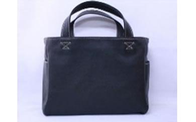minca/トートバッグ横型/small/BLACK