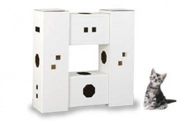 にゃんハウス「タワータイプ」4箱セット