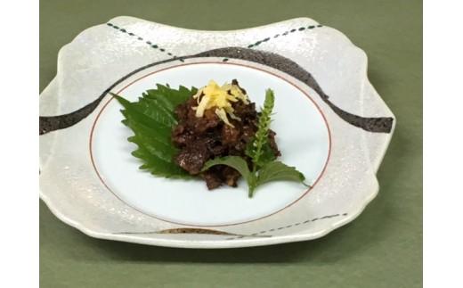 うなぎの佃煮 調理例
