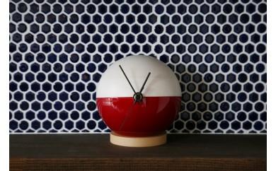 木製漆塗り時計 MARU-Q CLOCK(IWAI-祝-)