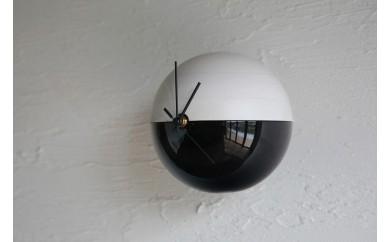 木製漆塗り時計 MARU-Q CLOCK(MICHI-道-)