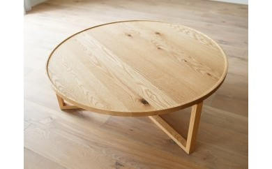 SPAGO Circle Table 084 oak