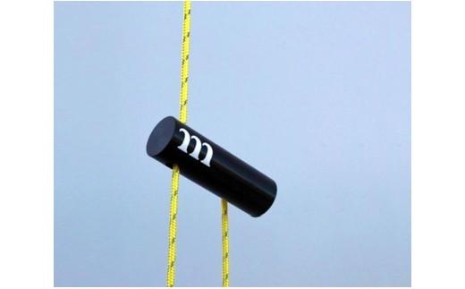 No.114 キャンプ用ロープ自在金具「CYLINDER TENSIONER™」