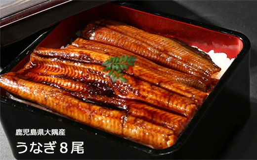 726 鹿児島県大隅産うなぎ蒲焼8尾