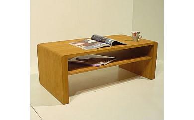 天然ツキ板のローテーブル100cm [st05]