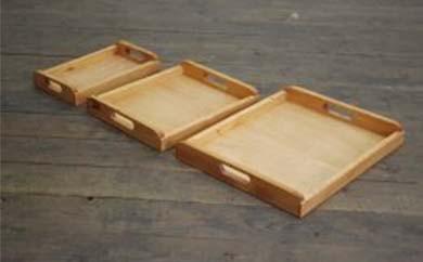 木製トレイL.M.Sセット