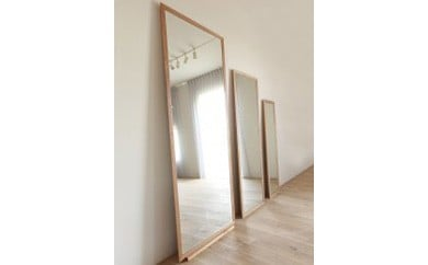 ORLO Stand Mirror 182 oak