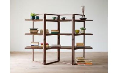 SPAGO Shelf 168 walnut