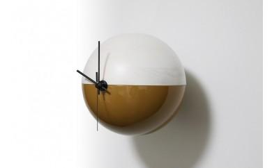 木製漆塗り時計 MARU-Q CLOCK(SAKAE-栄-)