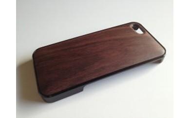 iphone se,5,5s用天然木ジャケット【ローズ】