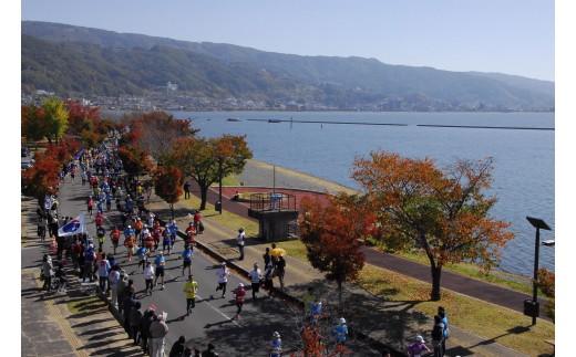 諏訪湖マラソン大会