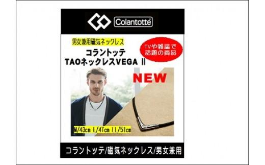 コラントッテ磁気ネックレス TAOネックレス VEGAⅡ(ブラック)