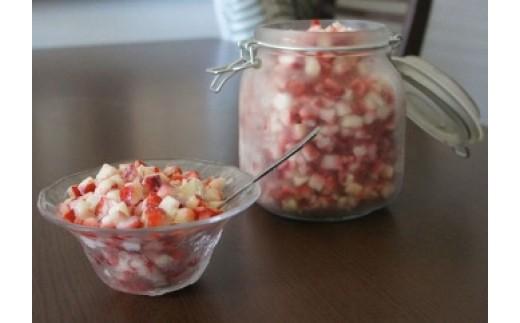 74-4 園村苺園 【減農薬】熊本宇土産・完熟冷凍いちごクラッシュタイプ1kg