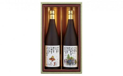 [№5545-0097]【奈良の地酒】歓喜光 純米吟醸「小さな喜び」「大切なひと」セット