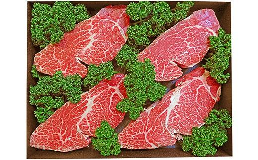 505 鹿児島県産黒毛和牛特上ヒレステーキ約130g×4枚