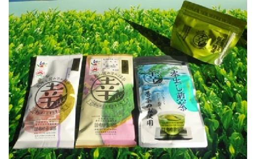 A-018 癒しのきりしま煎茶3種セット