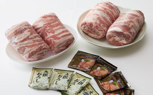 ☆【田中農場のすずし豚】 ロールステーキ 2㎏セット