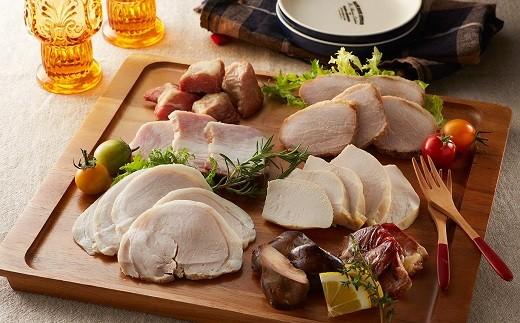 B-029 お肉と塩だけでつくる手作り燻製肉セット