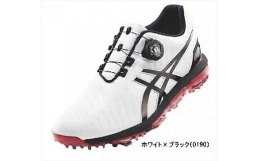 【52001】アシックス ゴルフシューズ メンズ ゲルエース プロ3Boa ホワイト・ブラック