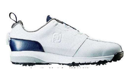 【40029】フットジョイ ウルトラフィット ボア ゴルフシューズ ホワイト・ネイビー