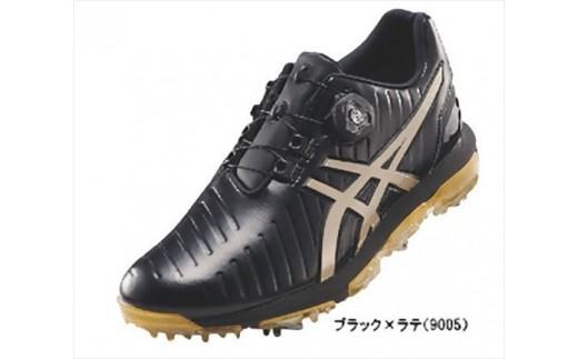 【52004】アシックス ゴルフシューズ メンズ ゲルエース プロ3Boa ブラック・ラテ