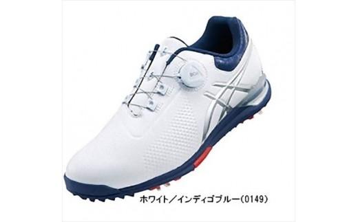 【40033】アシックス ゲルエースツアー3ボア ホワイト・インディゴブルー