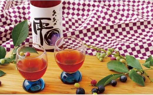 L552 ブルーベリー梅酒「あいあいの雫」【600pt】