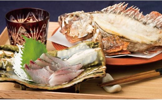 J672 五島列島宇久島屋鮮魚盛り合わせ【500pt】