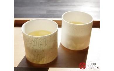 欧米で大人気!伝統を受け継ぐ美濃焼の白磁ロックグラス(2個)